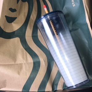 Starbucks 2020 Paper and pencil cup